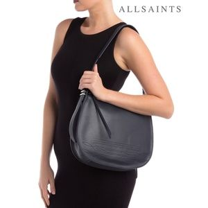 ALLSAINTS Cooper Leather Hobo Shoulder Bag